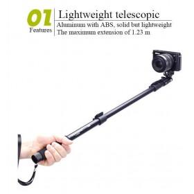 Монопод YunTeng YT-1288 для экшн-камер и смартфонов