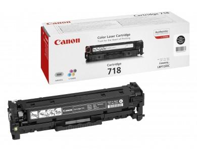 Картридж Canon 718 black (ORIGINAL)