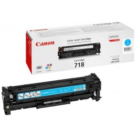 Картридж Canon 718 cyan (ORIGINAL)