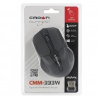 Мышь оптическая беcпроводная Crown CMM-333W, USB