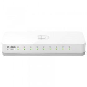 D-Link DES-1008C, коммутатор 8-портовый, 10/100 Мбит/с