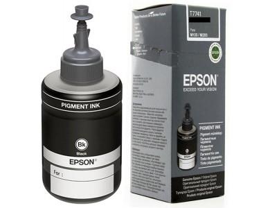Чернила Epson T7741 Black (ORIGINAL)