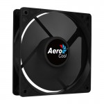 Кулер для компьютерного корпуса, AeroCool, FORCE 12 Black Molex + 3P, 120мм, 1000±10%об.мин, 24.8CFM