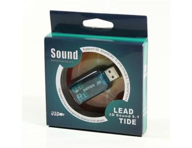 Внешняя звуковая карта USB 3D Sound  в Алматы