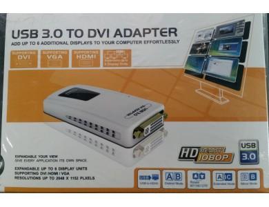 USB Видеокарта (Видеоадаптер USB 3.0 HDMI / DVI / VGA)