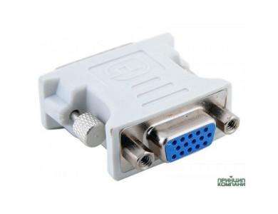 Купить в Алматы переходник DVI(m) 24+1 - VGA (f)