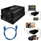 Устройство видеозахвата USB 3.0 EasyCAP (с поддержкой 2K*4K) HDMI