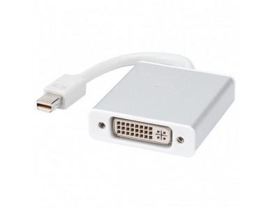Кабель переходник с Mini DisplayPort(m) на DVI-I(f) 24+5