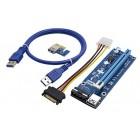 Riser/Райзер PCI-E x1 x16 VER006