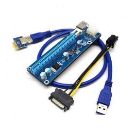 Riser/Райзер PCI-E x1 x16 VER009