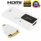 USB Видеокарта (Видеоадаптер USB 3.0 HDMI)