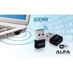 Wi-Fi Беспроводной сетевой адаптер ALFA NET (W102) 150Mbps
