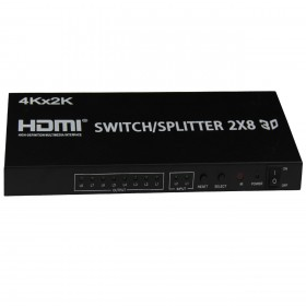 HDMI Splitter 2x8 port