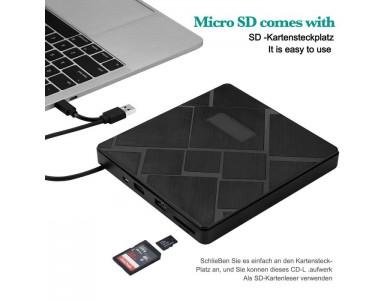 Внешний привод DVD±RW SKYEE External (+Hub +картридер)