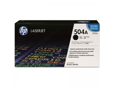 Картридж HP CE250A, 504A (black) ORIGINAL