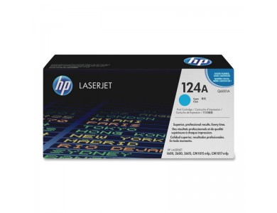 Картридж HP Q6001A, 124A (cyan) ORIGINAL