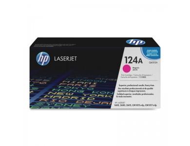 Купить картридж HP Q6003A, 124A в Алматы. Цена: 17000тг. Ресурс: 2000 страниц формата А4 при 5% заполнении. Совместимость: Color LaserJet 1600, 2600, 2605, CM1015MFP