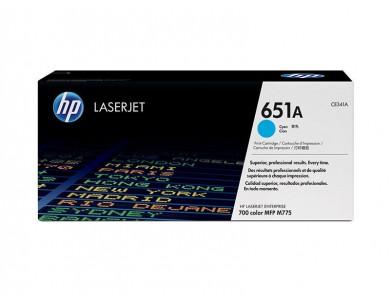 Картридж HP CE341A, 651A (cyan) ORIGINAL