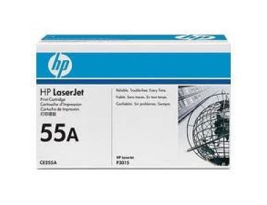 Картридж HP CE255A, 55A ORIGINAL