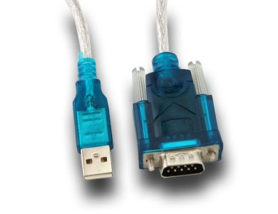 Кабель конвертер с USB(m) на COM(m) RS232, 1m
