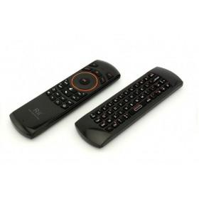 Клавиатура беспроводная Rii i25 (русские буквы) + Air mouse + пульт ДУ
