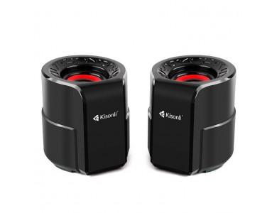 Колонки Kisonli A-909, питание от USB