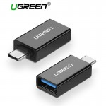 Переходник USB 3.1(m) Type C - USB 3.0(f) UGREEN