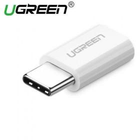 Переходник USB 3.1(m) Type C - MicroUSB(f)  UGREEN