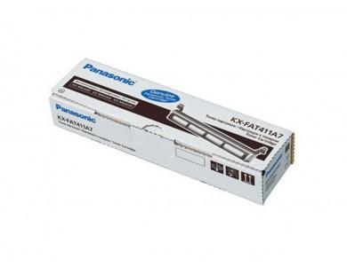 Купить тонер-тубу Panasonic KX-FAT411 в Алматы. Цена: 4500тг. Ресурс: 2000 страниц формата А4 при 5% заполнении. Совместимость: Panasonic  KX-MB2000RU, KX-MB2020RU, KX-MB2030RU