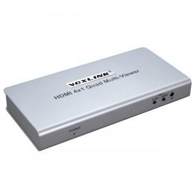 Свитчер HDMI 4x1 Quad Multi-viewer MV