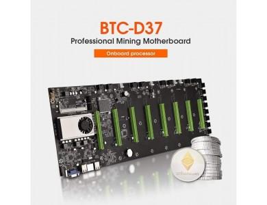 Материнская плата BTC-D37, 8*PCIE 16X
