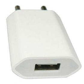 Адаптер Евровилка 220V на USB -  зарядка для iPhone и Android