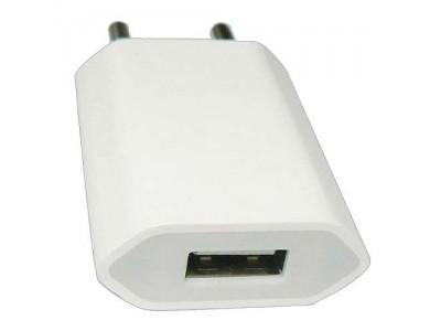 Адаптер Евровилка 220V на USB -  зарядка для iPhone и Android в Алматы