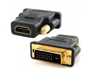 Переходник HDMI(f)-DVI(m) 24+1 в Алматы