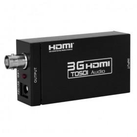 Активный адаптер конвертер / переходник / преобразователь с HDMI на SDI (BNC)