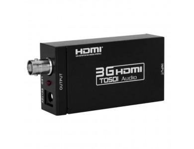 Активный адаптер конвертер / переходник / преобразователь с HDMI на SDI (BNC) в Алматы.