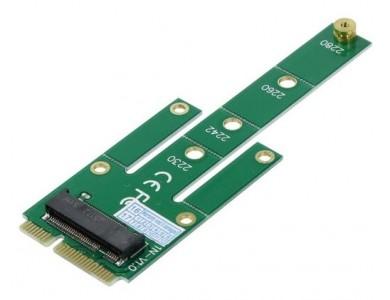 Переходник для M.2 NGFF на mSATA SSD