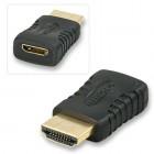Переходник mini HDMI(f)-HDMI(m)