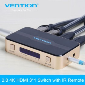 HDMI Switch 3 порта, Vention