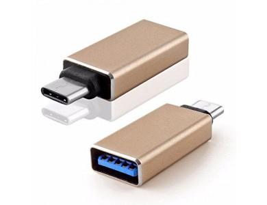 Переходник USB 3.1(m) Type C - USB(f) Type A (OTG-переходник)