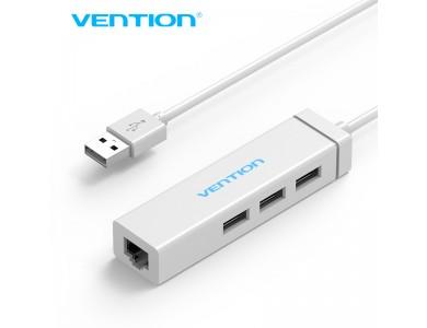 Адаптер с USB на LAN (Внешняя USB 2.0 —100Мбит/с сетевая карта), Vention в Алматы