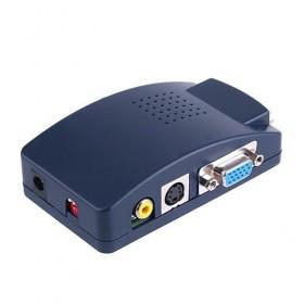 Конвертер с VGA на AV (тюльпан) + S-Video