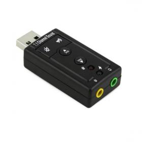 Конвертер USB на Audio, звуковая карта