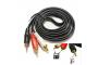 Кабель Audio(m) 3.5mm - 2RCA(m), 1.5m (AUX-кабель)