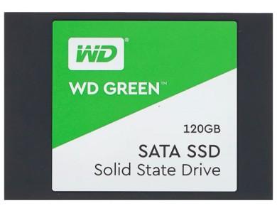 """Твердотельный накопитель 120GB SSD WD GREEN 2.5"""" SATA3"""