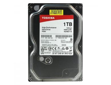 "Жесткий диск 1Tb Toshiba P300 (HDWD110UZSVA) 7200rpm, SATA 6Gb/s, 64MB, 3.5"""