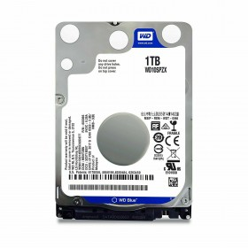 Жесткий диск 1Tb HDD WD Blue (WD10SPZX) 5400rpm, SATA 6Gb/s, 128MB, 2.5""