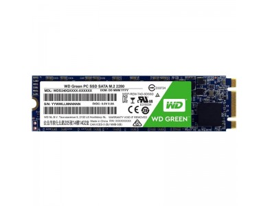 Твердотельный накопитель 480GB SSD WD GREEN M.2 2280 SATA3 WDS480G2G0B