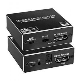 Конвертер HDMI на HDMI+AUDIO (SPDIF+ 3,5mm) + ARC 4K