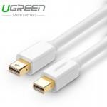 Кабель mini DisplayPort(m) - mini DisplayPort(m) UGREEN, 2m